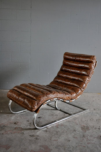 leather office therapy chair in brown - artappelartappel
