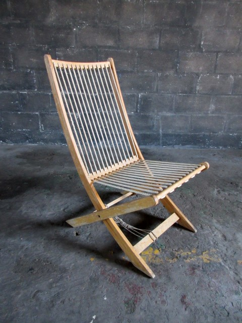 artappel props chairs outdoor string back deck chair